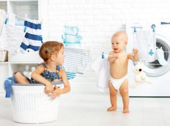 Il bucato dei neonati
