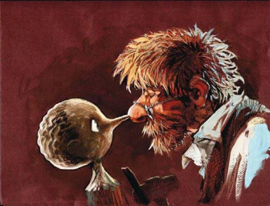 Sacrificio - Geppetto - il sassolino nello stagno - Khaled Elsadat