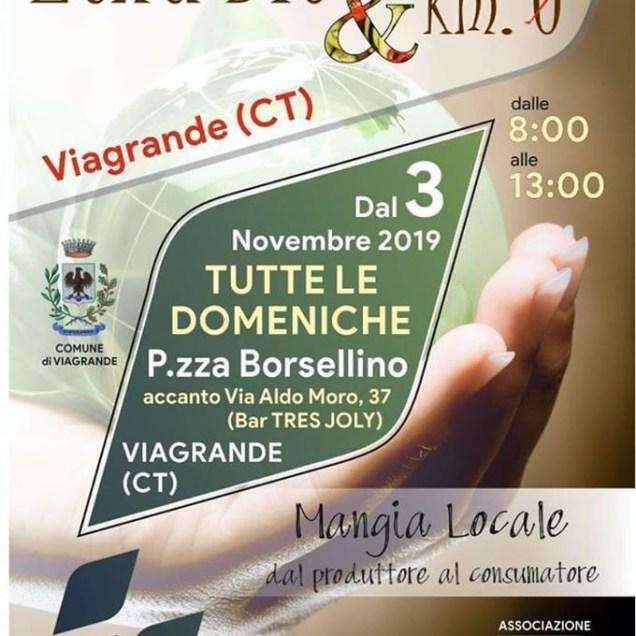 Mercatino Etna Bio & Km0 - Gravina di Catania - Tutte le Domeniche - Piazza Borsellino Viagrande