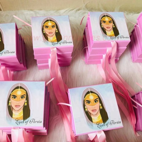 The printing process can print your LOGO and the patterns and information you want to display on your eyelashes packaging
