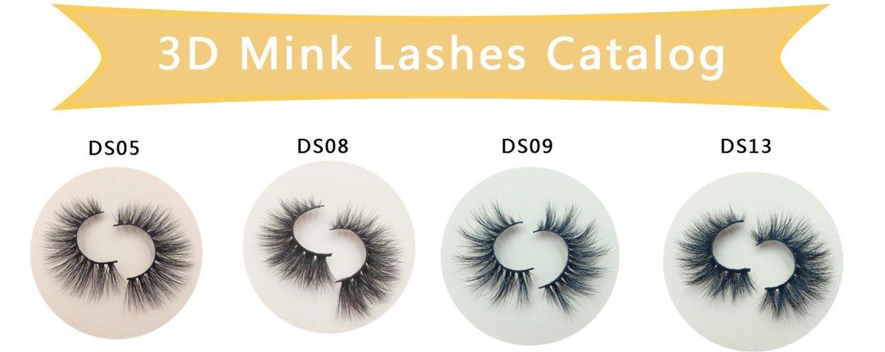 Eyelash vendors list/lash vendors wholesale 3D Mink Lashes
