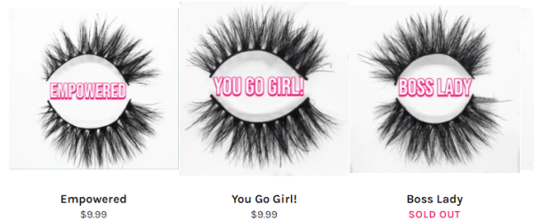 You need to decide what price you use according to your cost sell mink lashes