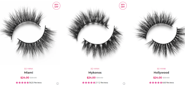 Lilly Lashes sell mink lashes strategy can improve your reference