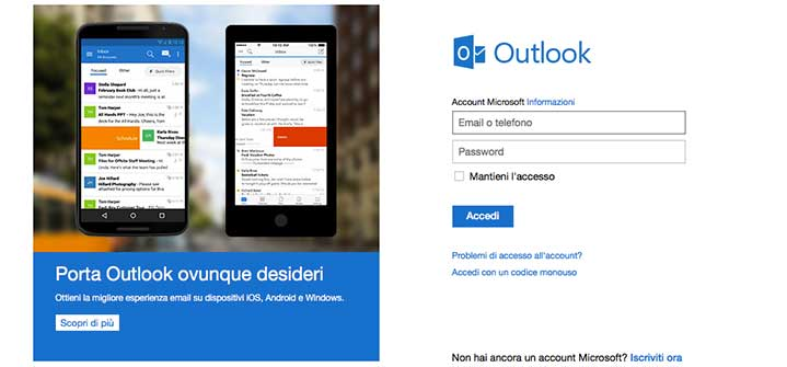 Outlook Login | Giovanni Rocco