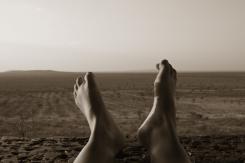 Kalahari-Füße