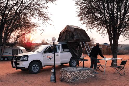 Campsite Twee Rivieren
