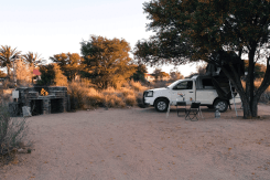 Campsite hinterm Canyon Roadhouse, Namibia