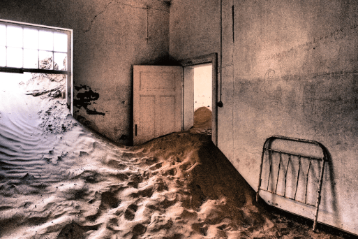 Krankenhaus in Kolmanskop