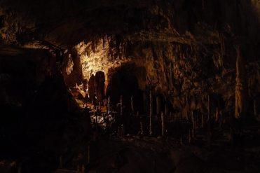 In den Höhlen von Postojna