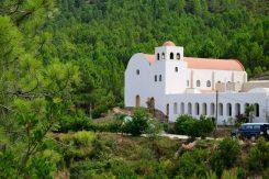 Hier leben gastfreundliche Nonnen, die gern mit Besuchern plauschen.