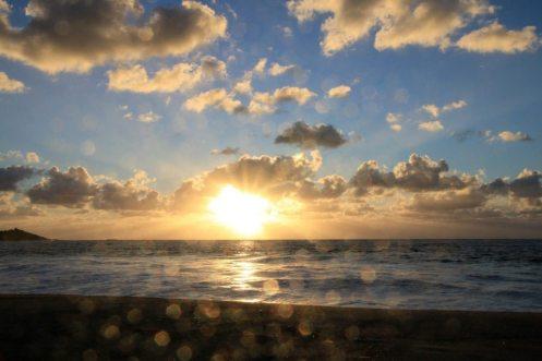 Die nächsten Tage wir gefaulenzt, in der Hängematte gelegen, am Strand spaziert und Sonnenuntergänge geguckt...