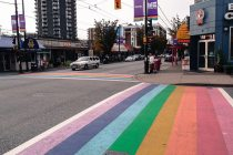 Die Gaybourhood in Vancouver, British Columbia