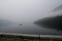 Lago Mergozzo im Nebel