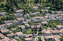 Der Stadteil Gorica in Berat, Albanien