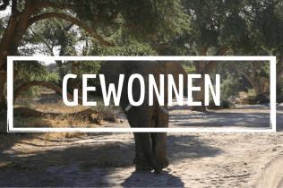 Oscar der Wüstenelefant geht an unsere Gewinnern im Dezember: Sabine