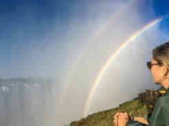Victoria Fälle Sambia: Rainbow Falls