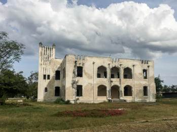 Das deutsche Fort in Bagamoyo in Tansania