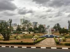 Reisebericht Ruanda: Das Stadtzentrum von Kigali