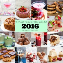 Giraffes Can Bake's Best of 2016 - 15 of the most popular recipes in 2016! Delicious cakes, indulgent desserts, scrummy cookies, and amazing cocktails – Giraffes Can Bake had a very tasty year! Here are the 15 recipes you lovely readers loved the most!