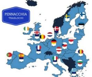 Trasloco Italia Olanda con Pennacchia Traslochi