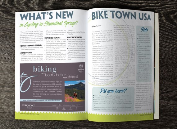 2012 Steamboat Bike Guide | spread