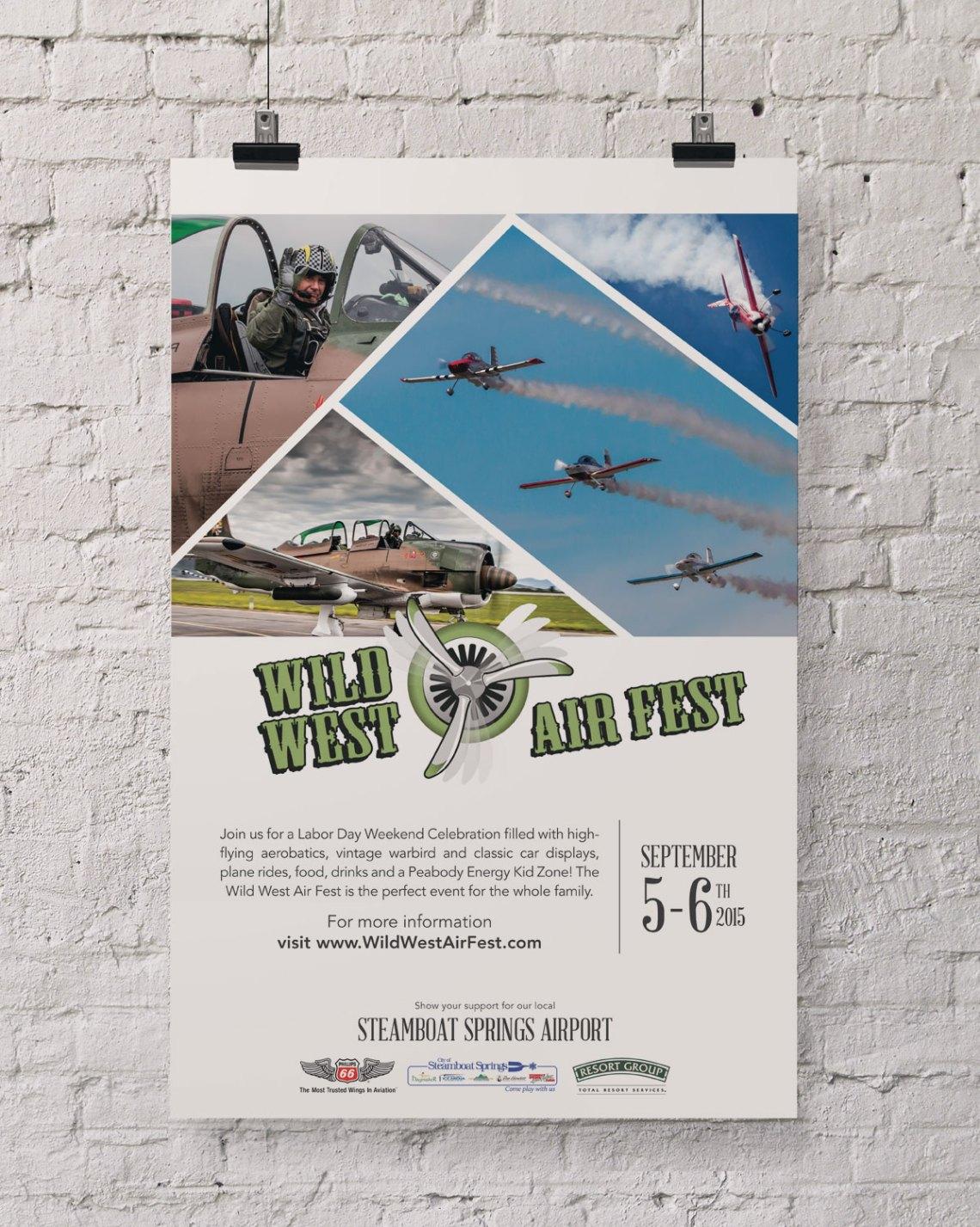 Wild West Air Fest | Poster 2015