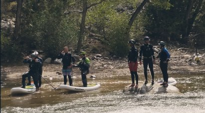 The paddle board crew