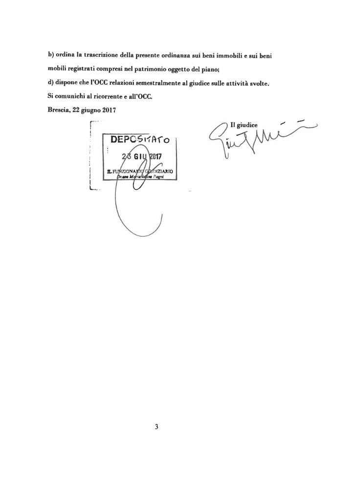 avvocato Laura Girelli Sara Girelli Studio legale Girelli Brescia sovraindebitamento Legge 3/2012 omologa piano del consumatore