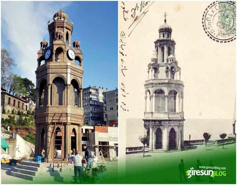 Giresun Saat Kulesi - Metamorfoz Kilisesi Çan Kulesi