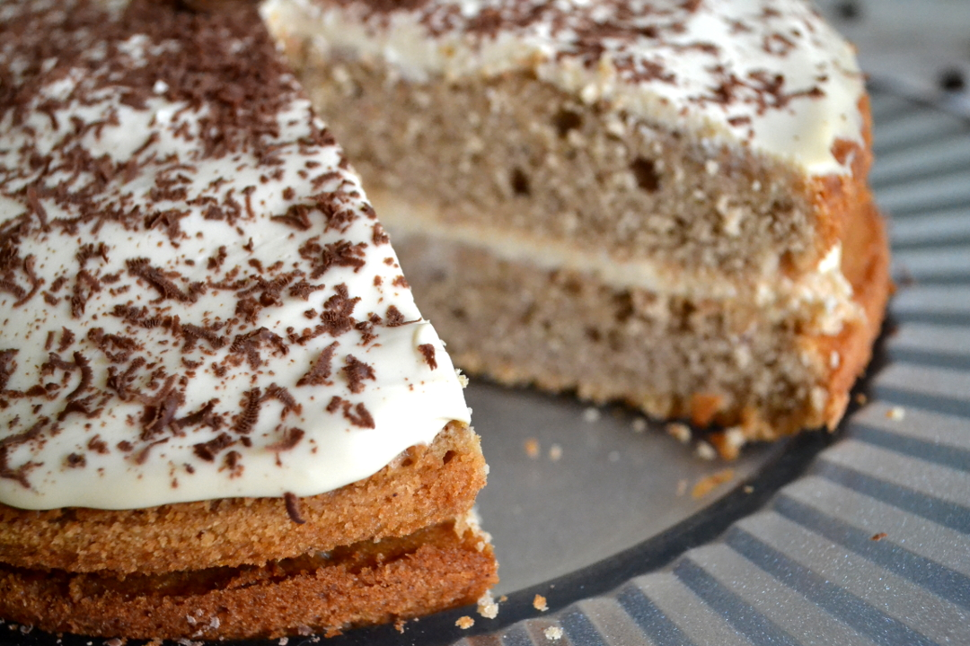 Caramel Cappucino Cake recipe - Girl about townhouse
