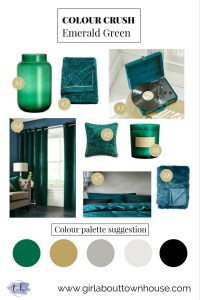 Emerald Green -Girl about townhouse