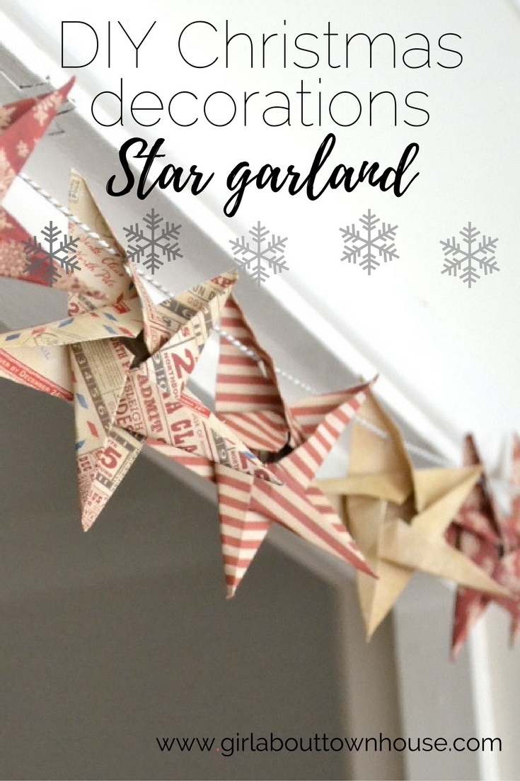 Origami Star Decorations - The Makery | 1102x735