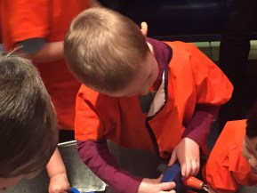 Science museum - An affordable family day in London. Girl about townhouse.