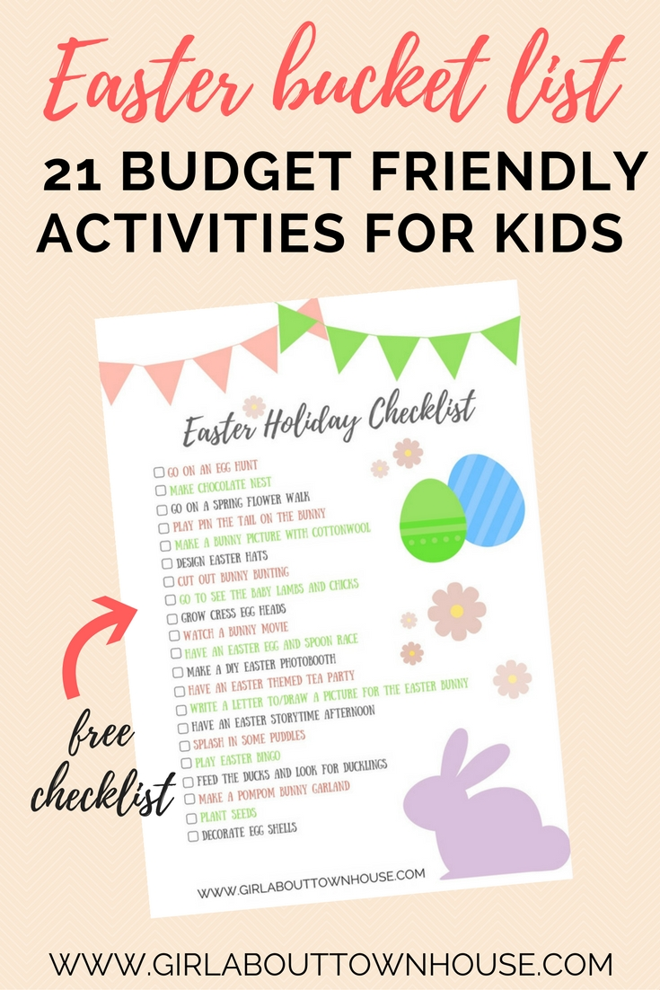 21 Easter Ideas For Kids Budget Friendly Girl About