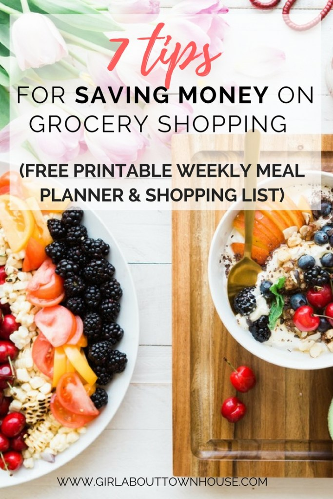 How to save money on your grocery shopping. Practical ways that families can make huge savings in the supermarket and make the most of their budget. Plus you can meal plan like a boss with my free printable weekly meal planner and shopping list. So let's do this, let's enjoy that frugal living!