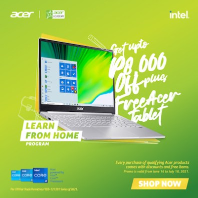 BEST DEALS! Upgrade Your Study Set-up With Acer's Learn from Home Program