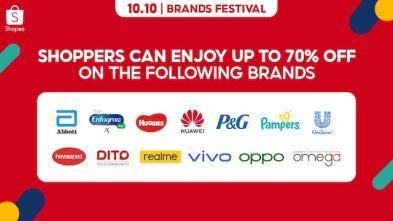 Shopee 10.10 Brands Festival Kicks Off With Newest Brand Ambassador Kim Chiu