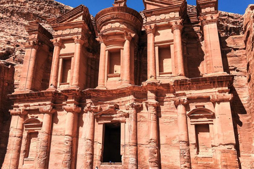 The Monastery at Petra Jordan