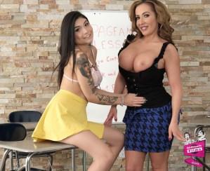 Brenna Sparks and Richelle Ryan