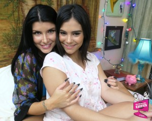 Romi Rain and Violet Starr
