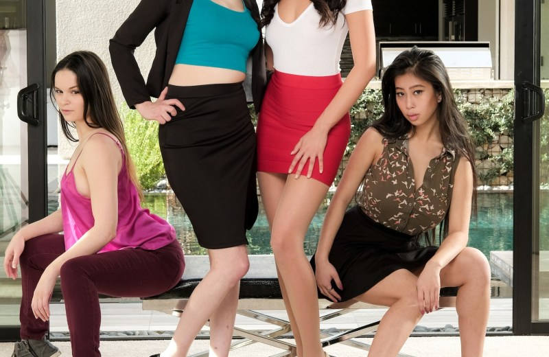 Cast of Please Make Me Lesbian 16