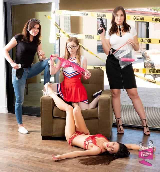 Cast of Lesbian Crime Stories 3