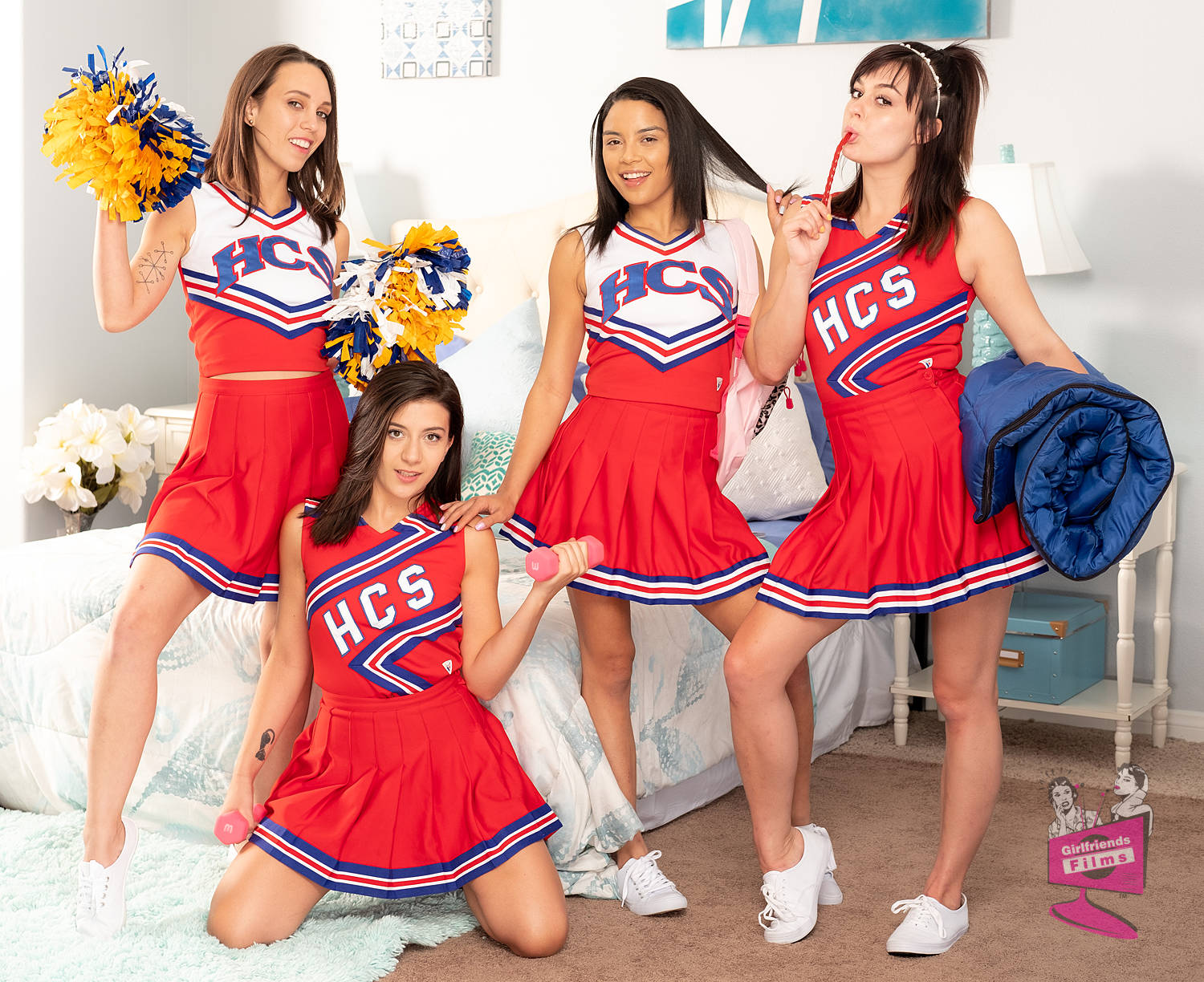Cast of Cheer Squad Sleepovers 28