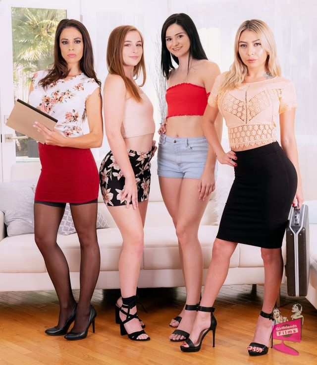 Cast of Lesbian Legal 14