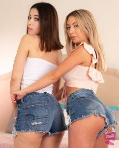 Aria Lee and Kat Dior