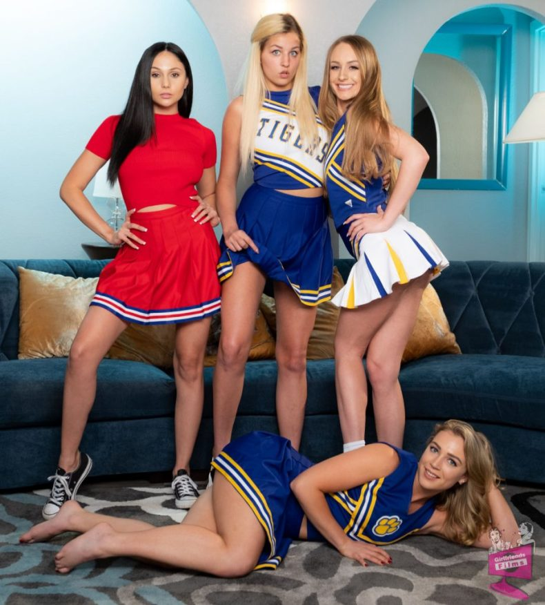 Girlfriends Films Cheer Squad 30