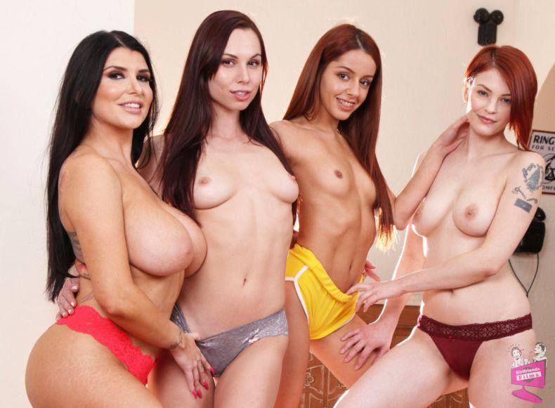 Cast of Lesbian House Hunters 18