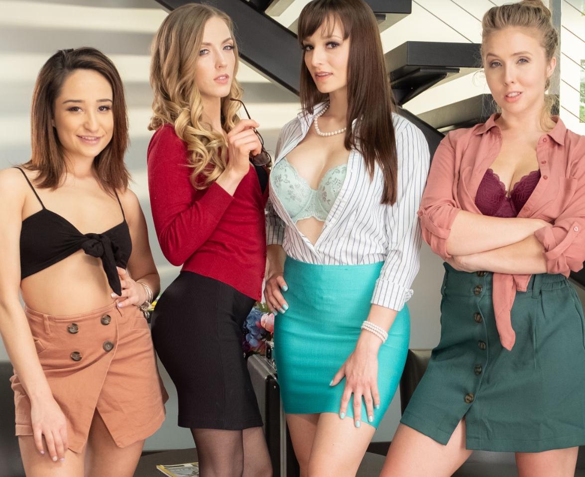 Cast of Lesbian Legal 16