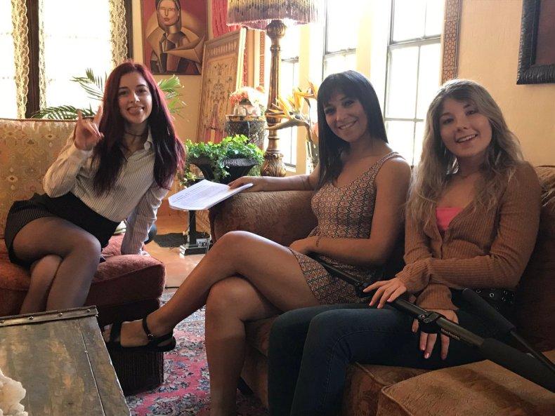 Danni Rivers, Brooklyn Gray and Vienna Rose