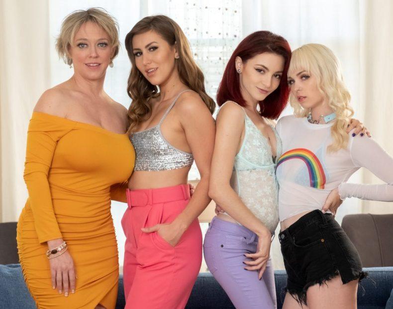 Cast of Net Skirts 21 Girlfriends Films